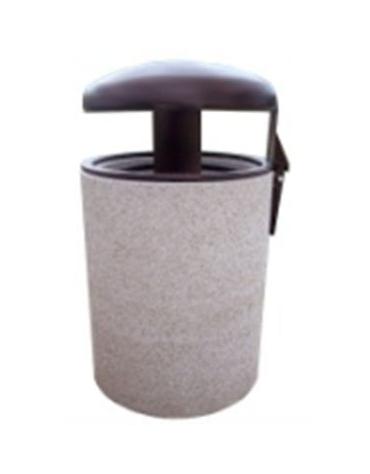 Cestone porta rifiuti basculante diametro cm. 50