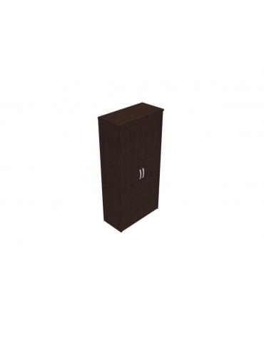 Mobile alto da 90 con ante intere in legno con serratura - cm 96x47x198h