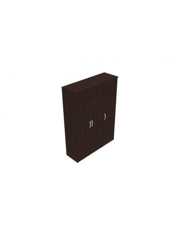 Mobile alto con ante intere in legno con serratura - cm 144x47x198h