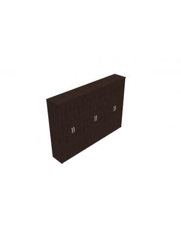 Mobile alto con ante intere in legno con serratura - cm 282x47x198h
