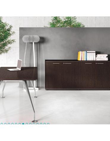 Mobile medio in legno con frigo - cm 45x46x79h