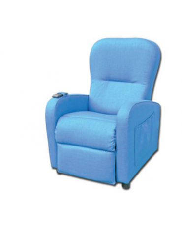 Poltrona relax Betty - 1 motore - colore blu