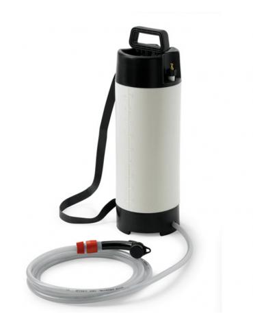 Serbatoio di acqua a pressione dotato di tubo flessibile di 4 m - 10 litri