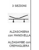 3 SEZ. SPN. Alzasch c/MANOV e alzagambe c/CREM 2r fisse 2 girevo