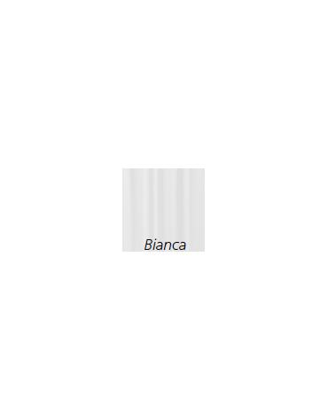 Tenda   in Trevira®, colore bianca -  ignifugo, antiallergico, antibatterico, impermeabile - cm 225 x 180