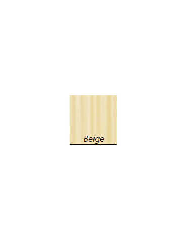 Tenda   in Trevira®, colore beige -  ignifugo, antiallergico, antibatterico, impermeabile - cm 225 x 180