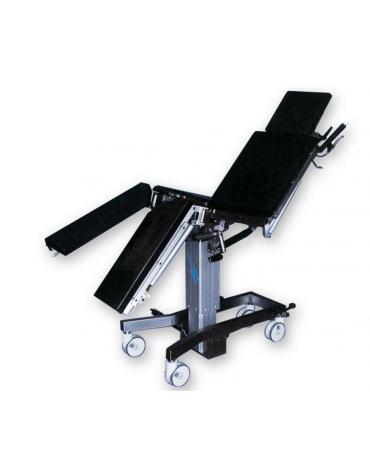 Tavolo operatorio Solaris - composto da 5 sezioni - meccanico - cm 200x48x70/100h