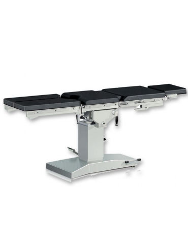 Tavolo operatorio Gima - composto da 5 sezioni - meccanico - cm 200x48x70/105h