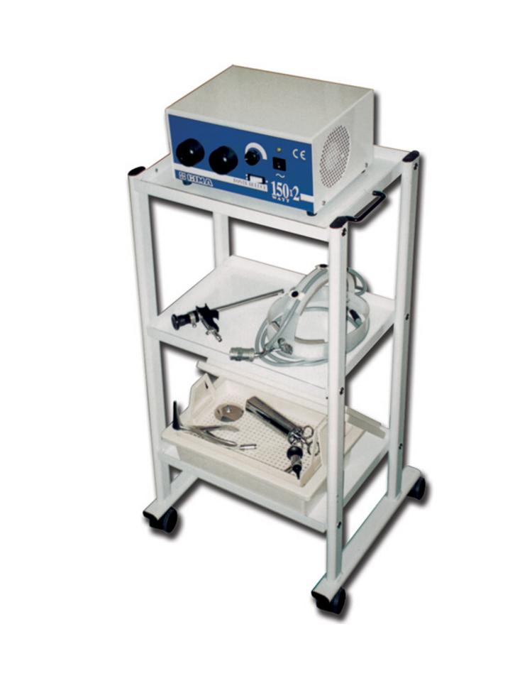 Carrello in acciaio inox con alzata variabile for Arredamento ospedaliero