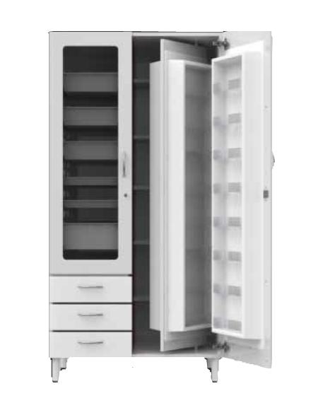 Un Armadio A Scomparti.Armadio Porta Medicinali Combo 24 Scomparti Per Farmaci Da Un