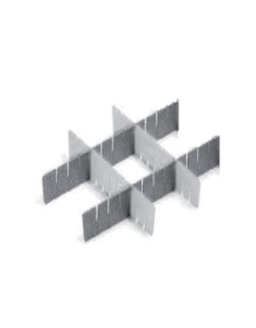 Sistema organizzativo a pettine per carrelli modulari - cm  40h