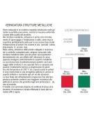 BANCO MONOPOSTO SENZA POGGIAPIEDI SOTTOPIANO IN POLIPROPILENE COLORATO CM 70X50