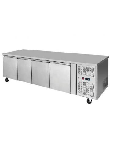 Tavolo refrigerato 2 Porte positivo cm 136x70x85h