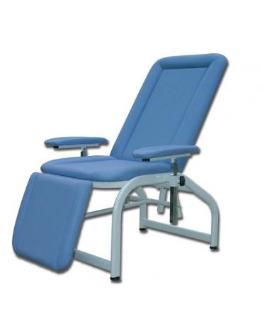 Poltrona donatori - meccanica - colore blu