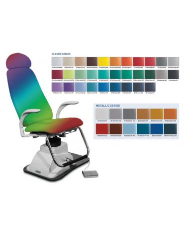 Poltrona ORL - con poggiatesta - colore a scelta - cm 65x49x116h