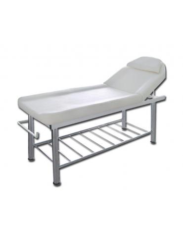 Lettino da massaggio, con foro facciale e cuscino removibile - cm 183x61x75h