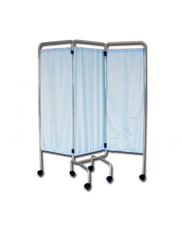 Tenda paravento, ignifuga, anallergica, antibatterica, impermeabile - beige - cm 45x129h
