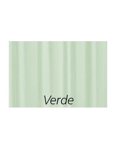 Tenda paravento, ignifuga, anallergica, antibatterica, impermeabile - colore verde - cm 45x129h
