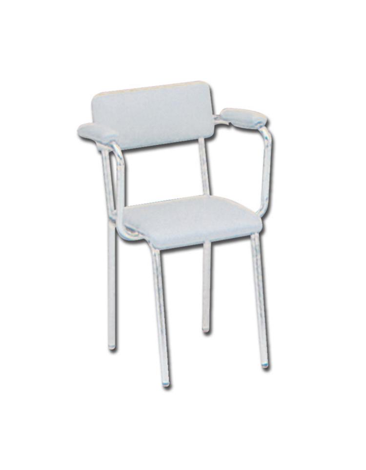 Sedia schienale alto similpelle colore a richiesta - Sostituire seduta sedia ...