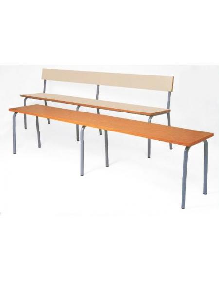 Panca adulti 3 montanti solo sedile arredamento for Feltrini antirumore per sedie