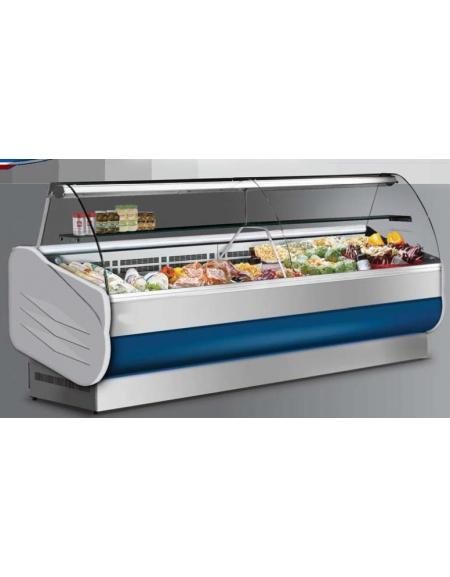 Banco salumeria refrigerato-Lunghezza cm. 152