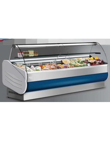 Banco salumeria refrigerato-Lunghezza cm. 248