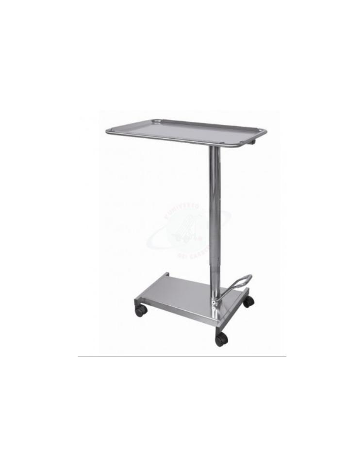 Carrello servitore per sala operatoria in acciaio inox for Peso lamiera acciaio inox aisi 304