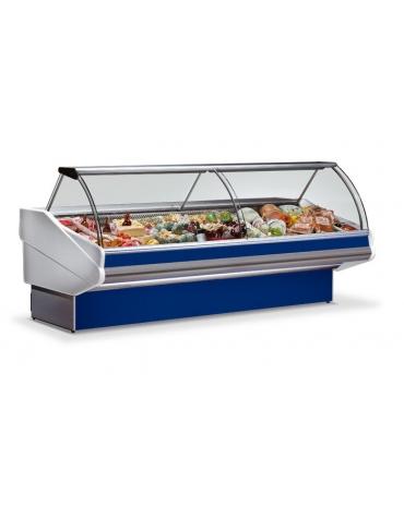 Banco salumeria refrigerato-Lunghezza cm. 398