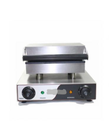 Macchina per waffel , piastre di cottura antiaderenti con funzione timer - mm 340x370x240h