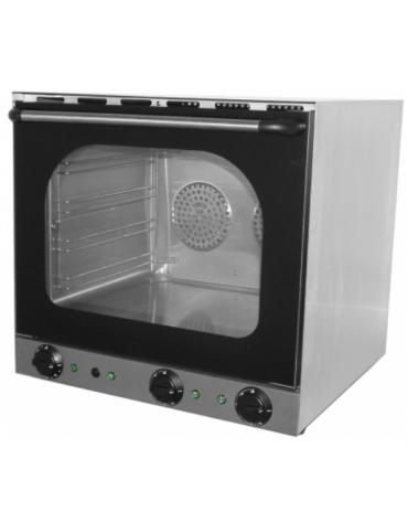 Forno a convenzione in acciaio inox,  funzione grill e umidificatore - Dim. interne mm 460x370x350h