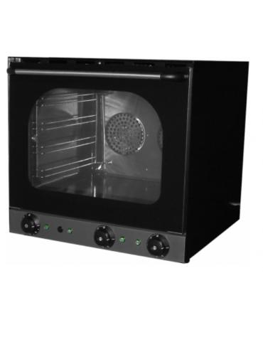 Forno a convenzione in lamiera galvanizzata, funzione grill e umidificatore - Dim. interne mm 460x370x350h