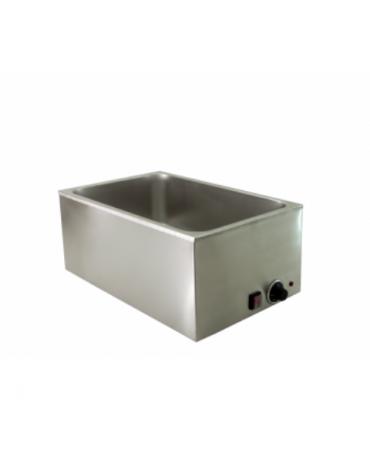 Bagnomaria elettrico da banco - Vasche G/N 1/1 - 2 X ½ - 3 X 1/3 - Dim. interne mm 325x515x170h