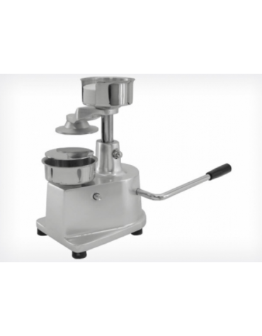Hamburgatrice - Pressa per hamburger manuale diametro mm. 130