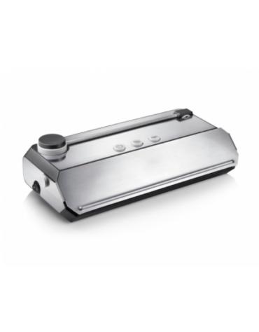 Confezionatrice sottovuoto in acciaio inox - aspirazione: 16 l/min - mm 365x185x110h