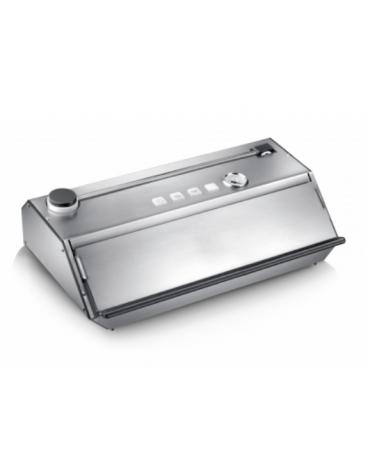 Confezionatrice sottovuoto professionale in acciaio inox - aspirazione: 32 l/min - mm  480x245x155h