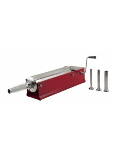 Insaccatrice orizzontale in acciaio inox - capacità 3 Lt. - mm 420x210x210h