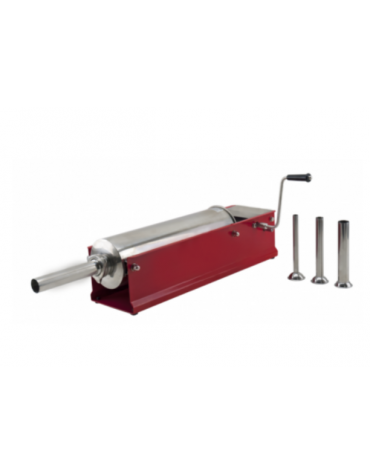 Insaccatrice orizzontale in acciaio inox - capacità 5 Lt. - mm 560x210x210h