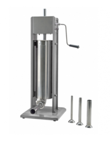 Insaccatrice verticale in acciaio inox - capacità 3 Lt. - mm 304x304x530h