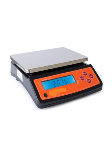 Bilancia elettronica , portata: 30 Kg - dimensioni piattaforma: 25,5 x 19 cm