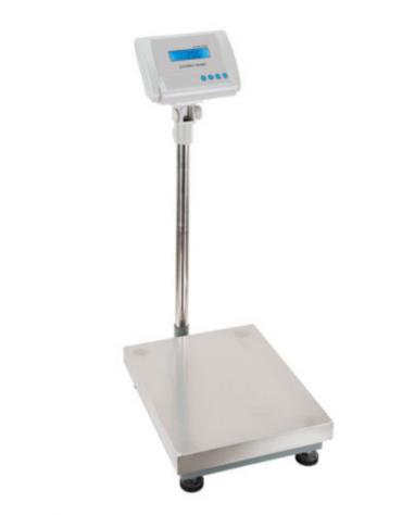 Bilancia elettronica - Portata 120 Kg - dimensioni piattaforma cm 40 x 50 - altezza cm 106