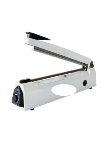 Sigillatrice termica - lunghezza max mm 400 - spessore mm 3 - corpo in alluminio