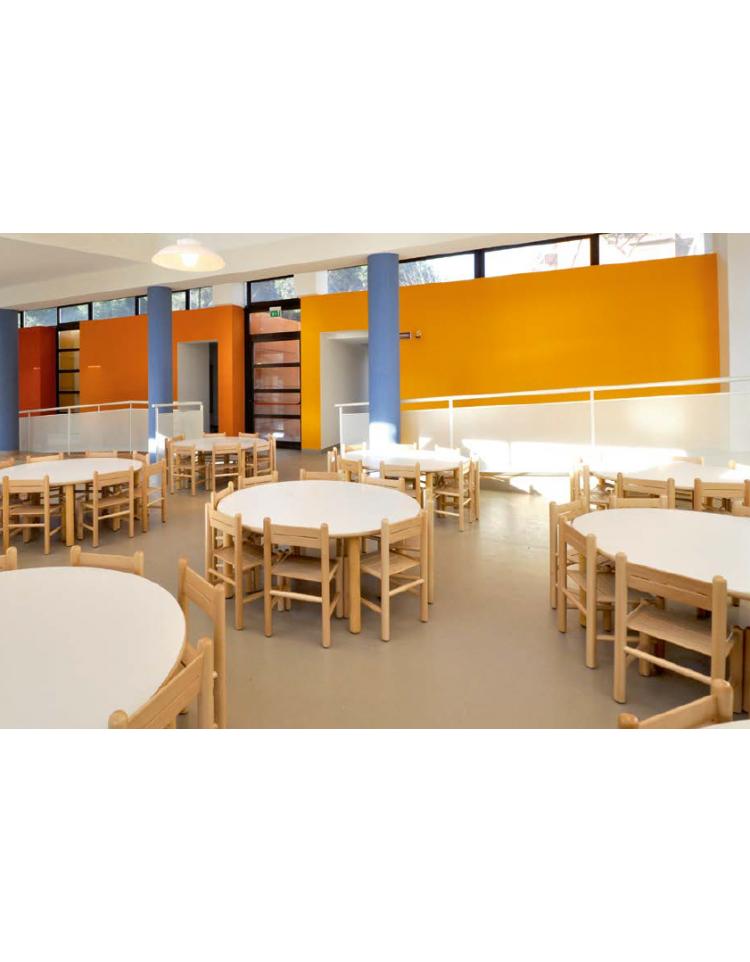 Tavolo quadrato piano latte in legno cm 75x75x46h for Tavolo quadrato grande
