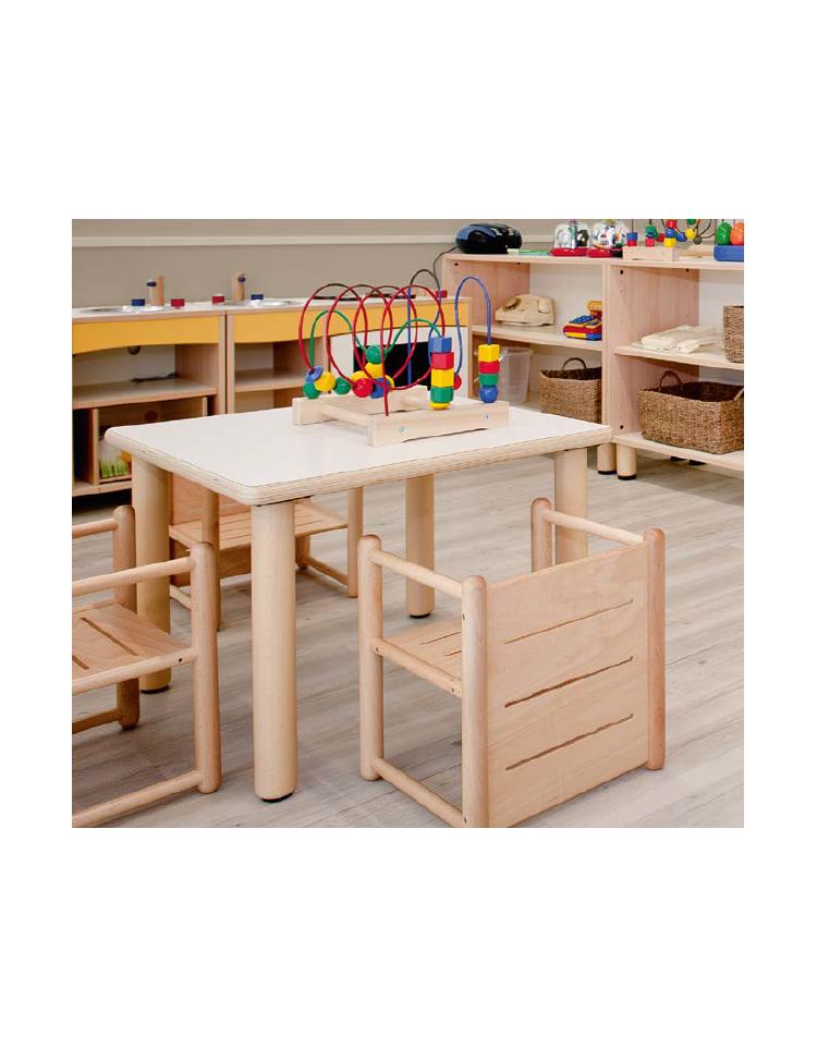 Piano tavolo quadrato latte in legno for Tavolo legno quadrato
