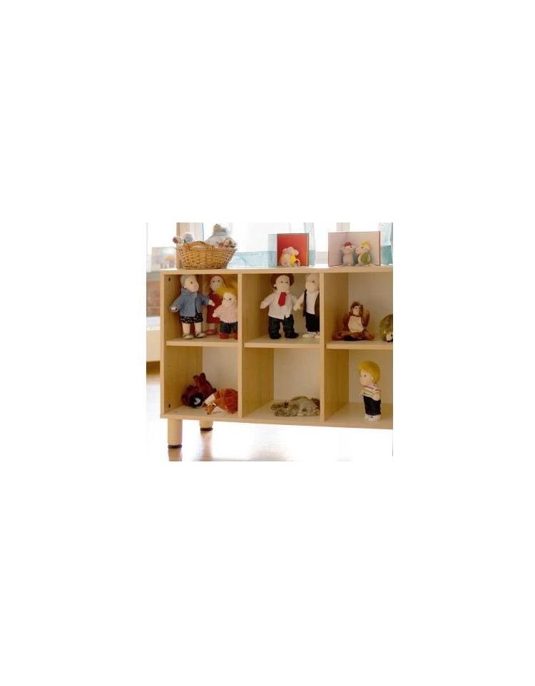 Mobile a 9 caselle 105x41xh100 mobili nido e scuole - Feltrini mobili ...