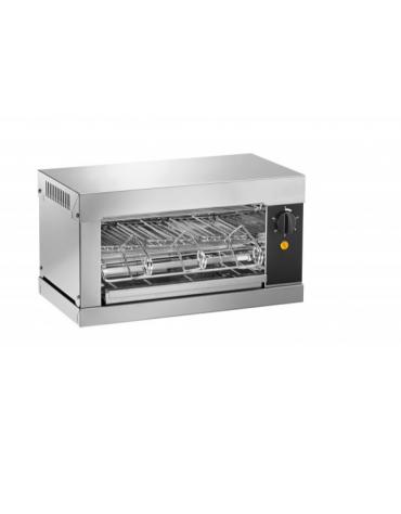 Tostiera in acciaio inox AISI 304 - 3 pinze - 2000 w - mm 440x240x250h