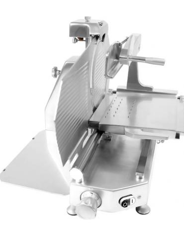 Affettatrice verticale con struttura in lega di alluminio con fusione in conchiglia - mm 550x710x610h