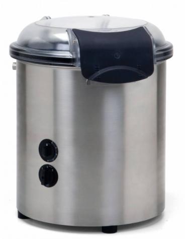 Pelapatate in acciaio inox AISI304 - potenza 370W - mm 440x520x520h