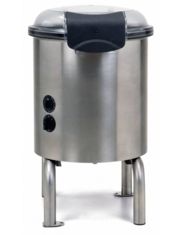 Pelapatate in acciaio inox AISI304 - potenza 370W - mm 440x520x700h