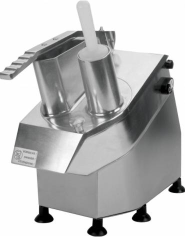 Tagliaverdure monofase 230 V, con velocità 320 rpm e produzione oraria di 100 - 300 Kg - mm  570x240x470h