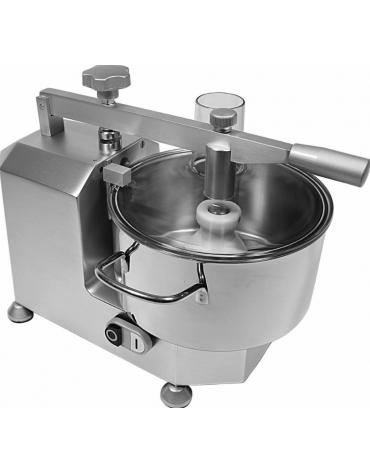 Cutter professionale monofase con capacità vasca 3 LT e potenza 370 W - mm 400x320x320h